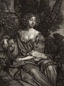 published by Alexander Browne, after Sir Peter Lely, mezzotint, circa 1680-4
