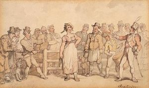 350px-Rowlandson,_Thomas_-_Selling_a_Wife_-_1812-14