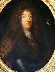 CHT271781 Louis d'Oger (1640-1716), Marquis de Cavoye (oil on canvas); by French School, (17th century); Private Collection; Archives Charmet; French, out of copyright